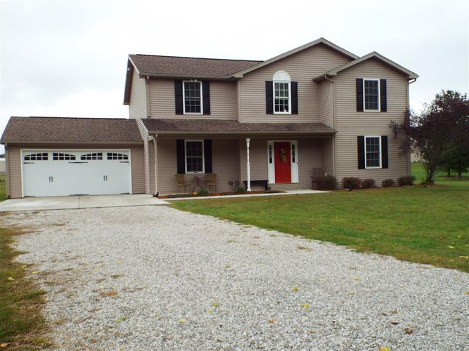 9621 W 575 S  Owensville, IN 47665 | MLS 201846517