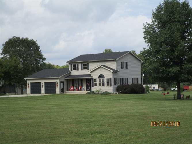 7050 N County Rd 315 E Road Shelburn, IN 47879 | MLS 201846961