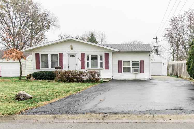 736 W Townley Street Bluffton, IN 46714 | MLS 201847987