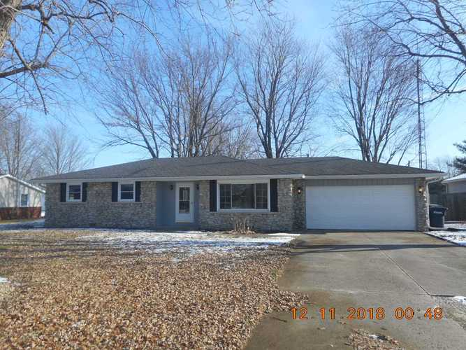 3400 N Burgess Road Muncie, IN 47304 | MLS 201853567