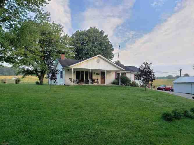 22671  Harper Hill Rd Road Loogootee, IN 47553-4659 | MLS 201854419