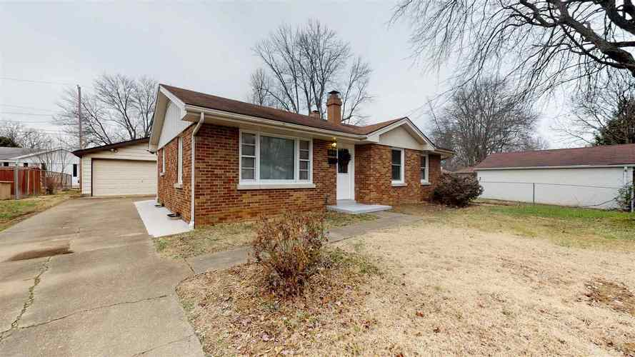 1845  McConnell Avenue Evansville, IN 47714   MLS 201901938