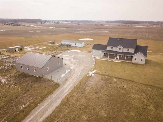 3088 S 500 W  South Whitley, IN 46787   MLS 201906179