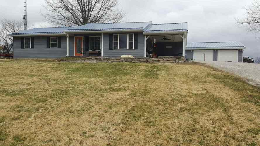 1118  Kings Ridge Road Mitchell, IN 47446 | MLS 201909067