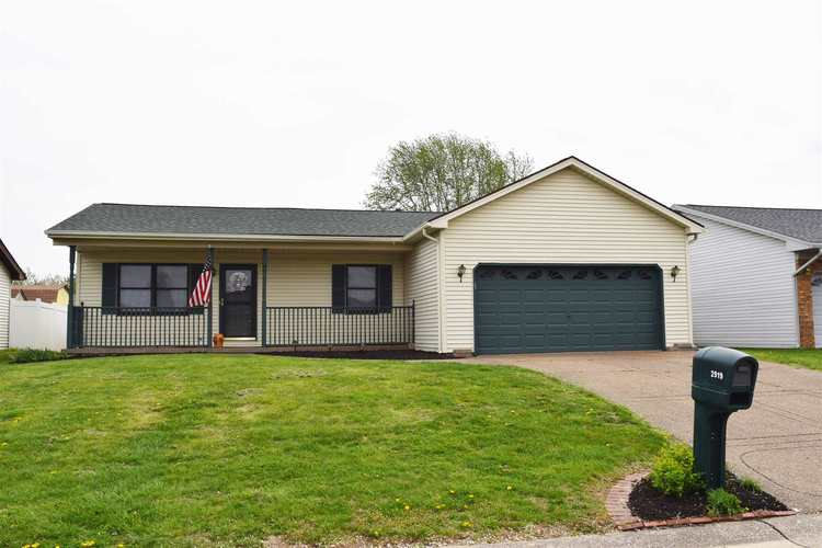 2919  Shady Hollow Trail Evansville, IN 47715 | MLS 201913566