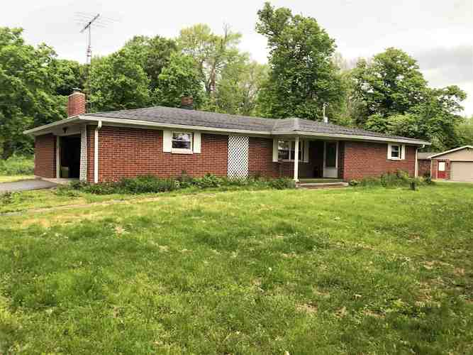 3650 N Brick Church Road Cambridge City, IN 47327 | MLS 201919919