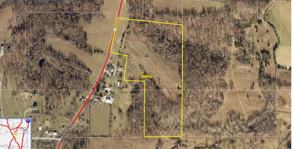 58 S State Road 45 Road Bloomfield, IN 47424 | MLS 201921380
