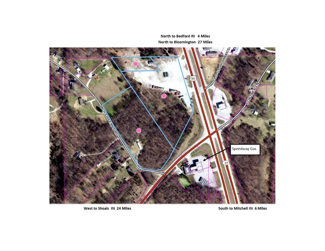 S State Road 37 Highway Mitchell, IN 47446   MLS 201929131
