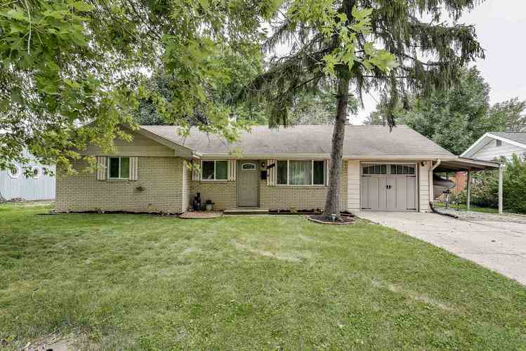 7248 E 52nd Street Indianapolis, IN 46226 | MLS 201931775