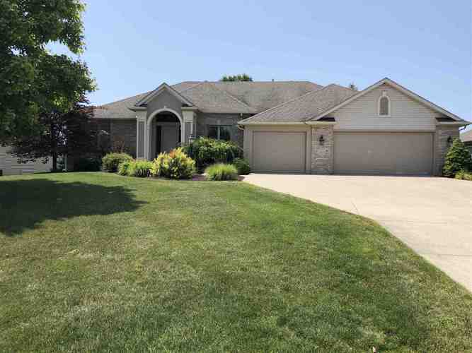 12609  Genesta Cove Fort Wayne, IN 46845 | MLS 201932063