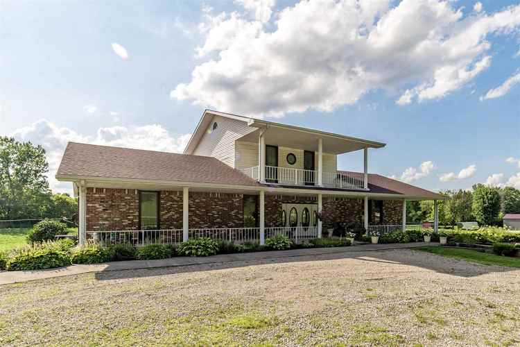 7321 N Prairie Road Springport, IN 47386 | MLS 201933200