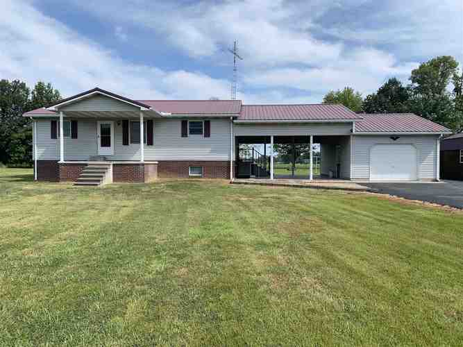 9807 E Co Rd 150 N  Otwell, IN 47598 | MLS 201934290