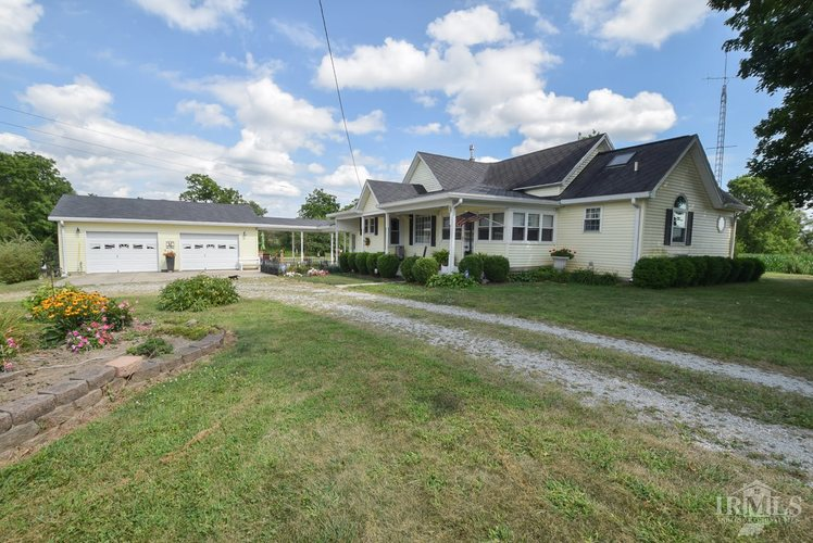 7910 N County Road 850 E N Parker City, IN 47368 | MLS 201934324 | photo 1