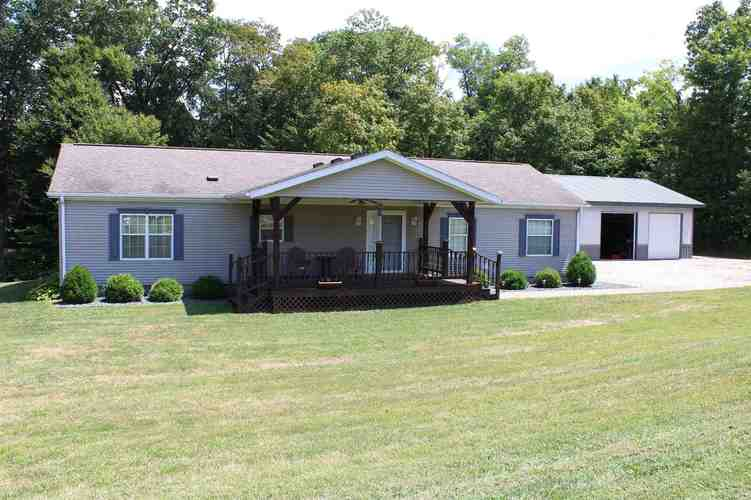 1410 ridge Road Williams, IN 47470 | MLS 201935391 on design a mobile home, blocking a mobile home, setting footers for modular home,