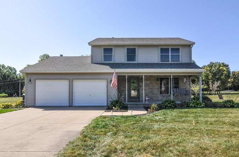 8075 W Nickel Plate Court Mulberry, IN 46058-9480 | MLS 201944716