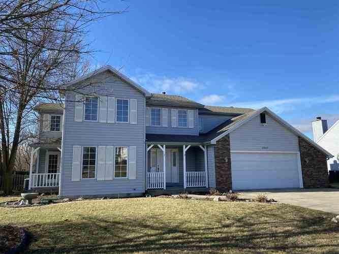 11011  WINDSOR WOODS Boulevard Fort Wayne, IN 46845 | MLS 202001200