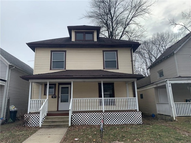 203 E College Street Crawfordsville, IN 47933-2809 | MLS 202002863