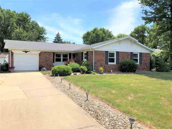 3608  Canyon Drive Kokomo, IN 46902 | MLS 202027158