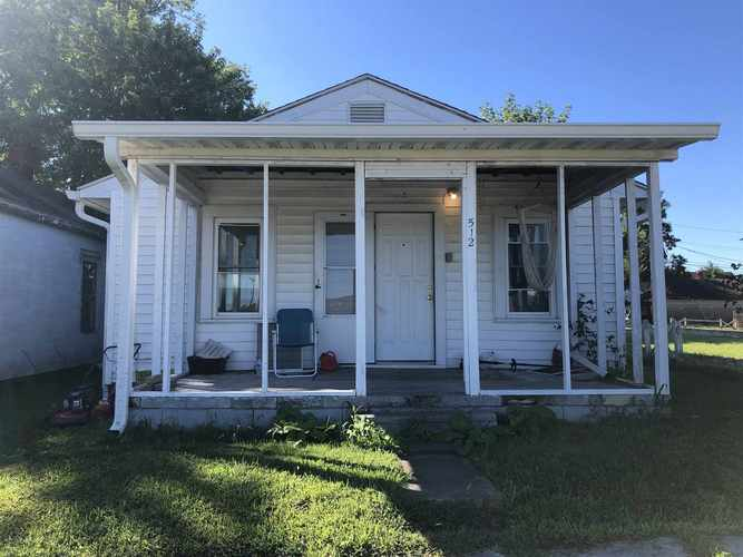 512 W MISSISSIPPI AVE  Mitchell, IN 47446 | MLS 202033601