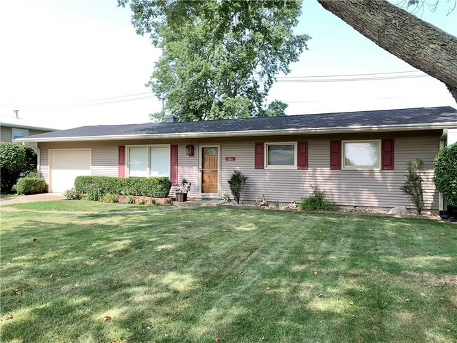 706  North Drive Crawfordsville, IN 47933-1516 | MLS 202037282