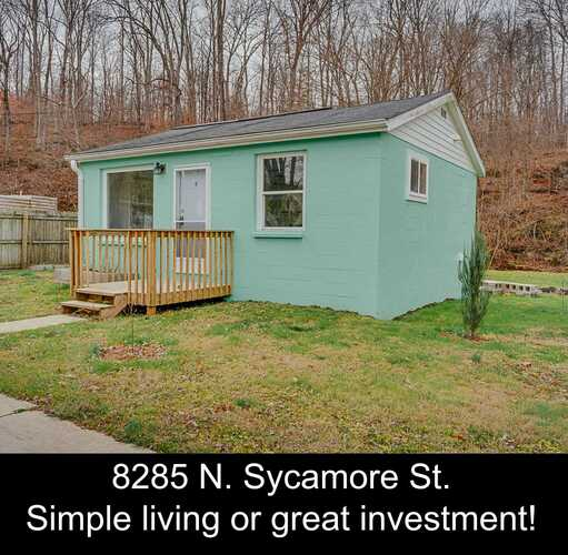 8285 N Sycamore Street Stinesville, IN 47464 | MLS 202102237