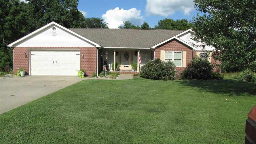 5063 S Narrow Point Drive Owensville, IN 47665 | MLS 202133591