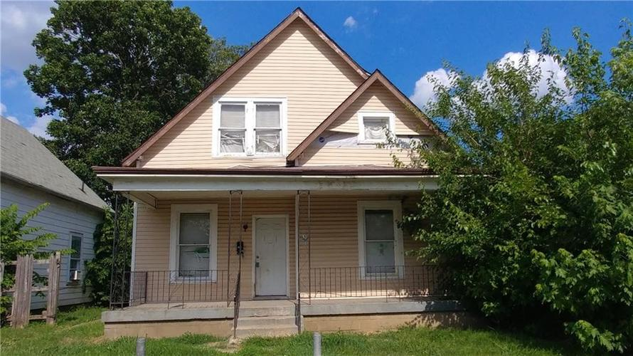 113 S Traub Avenue Indianapolis, IN 46222 | MLS 21504674