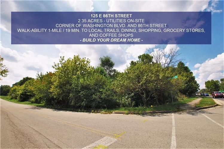 125 E 86th Street Indianapolis, IN 46240 | MLS 21509968