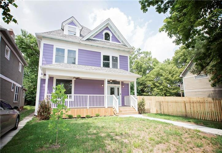 2206 N Capitol Avenue Indianapolis, IN 46208 | MLS 21565739