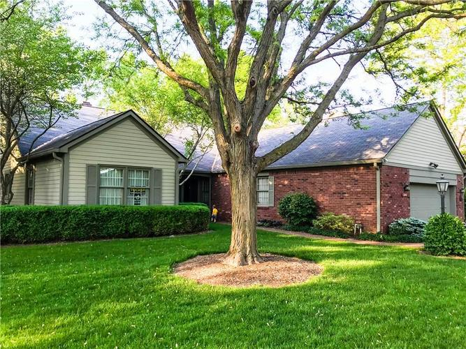 3342 Bay Road Drive Indianapolis, IN 46240  | MLS 21566373