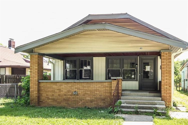 403 N GLADSTONE Avenue Indianapolis, IN 46201 | MLS 21571220