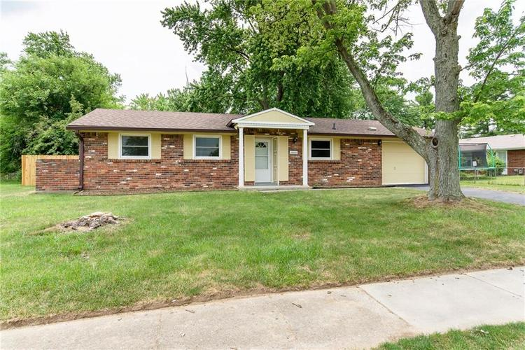 10103 E Chris Drive Indianapolis, IN 46229 | MLS 21572578