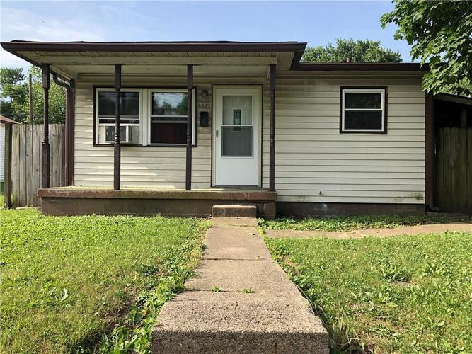 4119 E 21st Street Indianapolis, IN 46218 | MLS 21573515