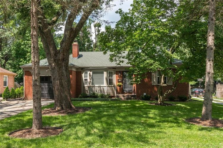 6024 HILLSIDE AVE E Drive Indianapolis, IN 46220 | MLS 21578399 | photo 1