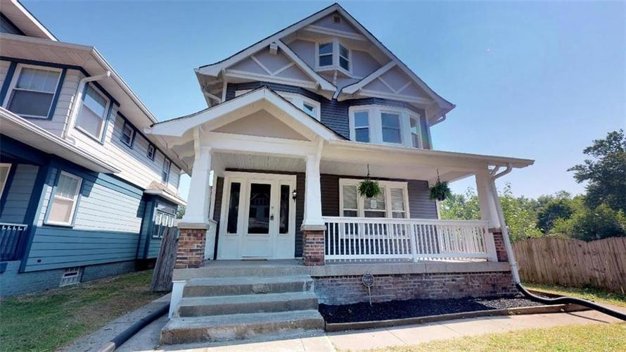 607 E 32nd Street Indianapolis, IN 46205 | MLS 21581778