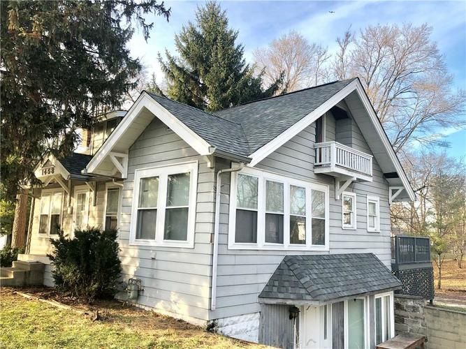 1458 E Thompson Road Indianapolis, IN 46227 | MLS 21582823