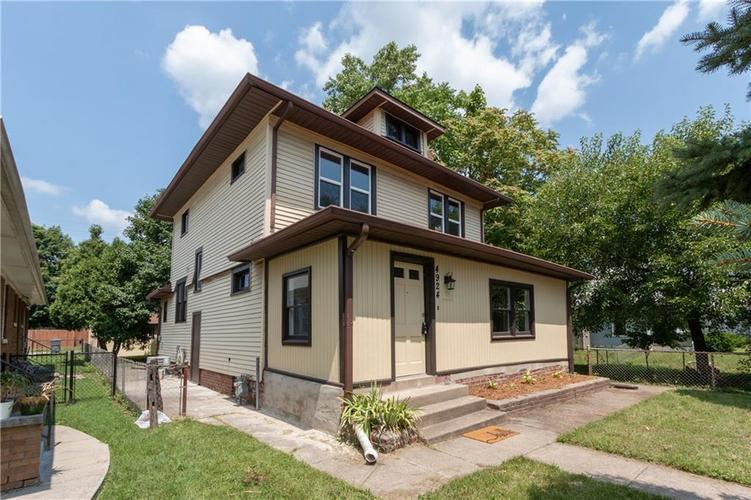 4924 E 10th Street Indianapolis, IN 46201 | MLS 21583772