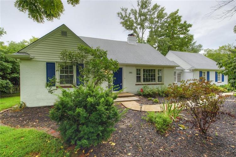 501 E 75TH Street Indianapolis, IN 46240 | MLS 21586964