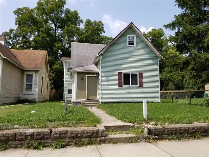 2722  STATION Street Indianapolis, IN 46218 | MLS 21588772