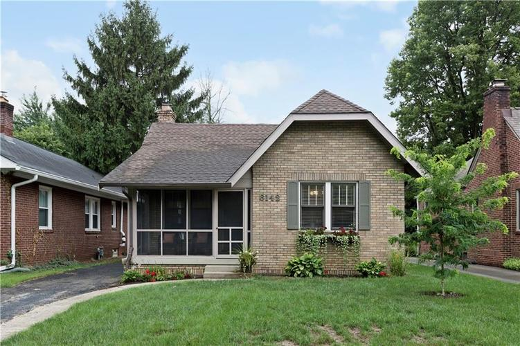 6142 N Park Avenue Indianapolis, IN 46220 | MLS 21589483