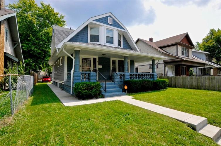 915 N Rural Street Indianapolis, IN 46201 | MLS 21589494