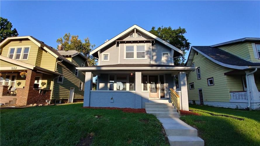 506 N Drexel Avenue Indianapolis IN 46201 | MLS 21589823 | photo 1