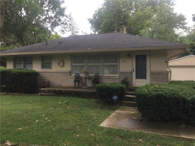 2551 E 68th Street Indianapolis, IN 46220 | MLS 21590070