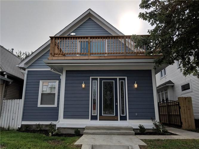 1413 S East Street Indianapolis, IN 46225 | MLS 21590878