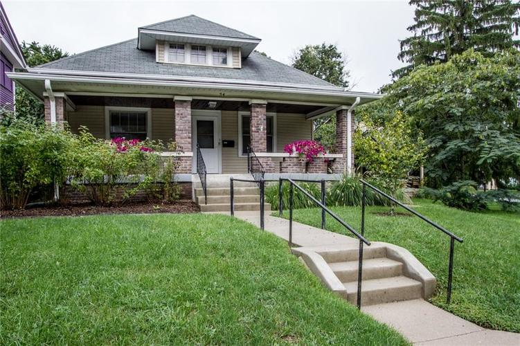 54 N Bolton Avenue Indianapolis IN 46219 | MLS 21590966 | photo 1