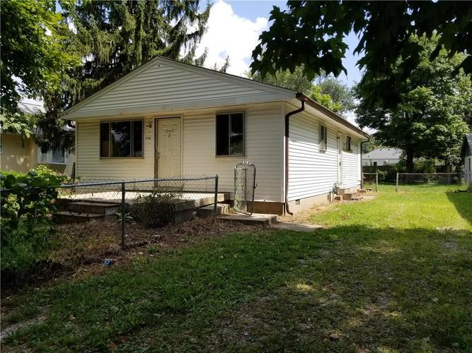 2709 S Fleming Street Indianapolis, IN 46241   MLS 21593122