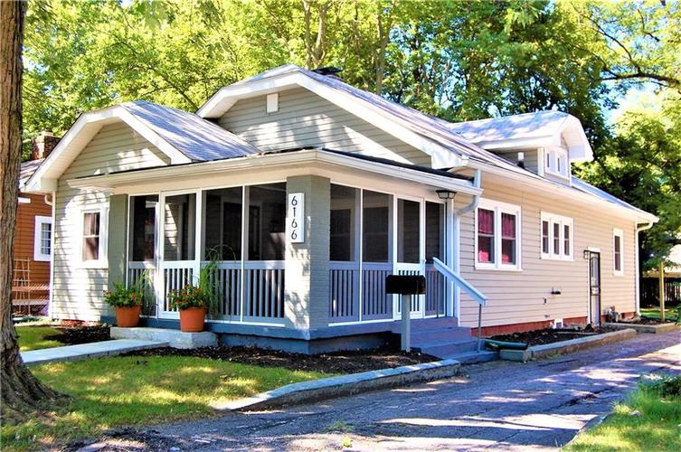 6166 Broadway Street Indianapolis IN 46220 | MLS 21593137 | photo 1