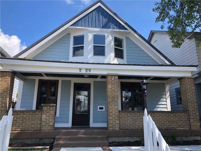 1429 S East Street Indianapolis, IN 46225 | MLS 21596074