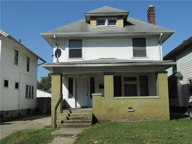 214 N Tremont Street Indianapolis, IN 46222 | MLS 21596103