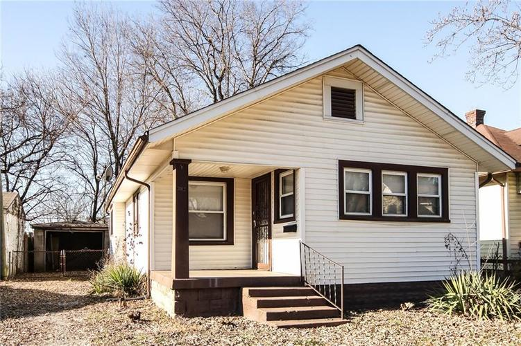 3012 N Arsenal Avenue Indianapolis, IN 46218 | MLS 21596232